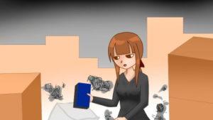 【4コマ】同棲解消は苦労しかない話