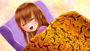 【4コマ】足が冷たすぎて眠れない慢性冷え性を救った布団乾燥機の話