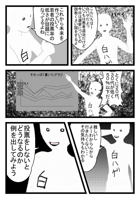 3D白ハゲ漫画25
